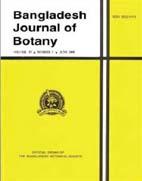 Bangladesh Journal of Botany