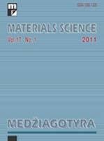 MATERIALS SCIENCE-MEDZIAGOTYRA